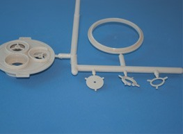 Injection molding of various oxygen mask